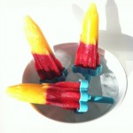 Bellini Popsicles (Virgin and Spiked)