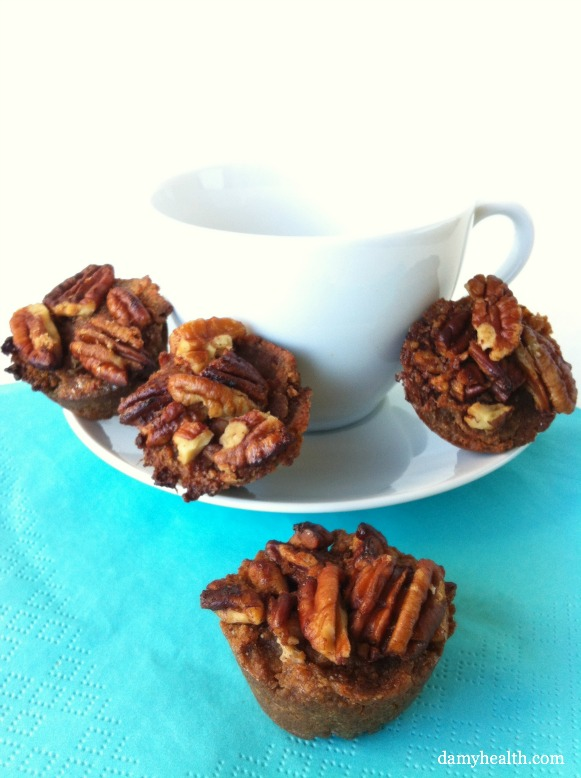 Gluten-Free Pecan Crusted Coffee Cakes