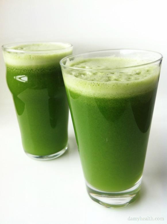 How to make Green Goddess Juice