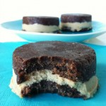 Raw Oreo Ice Cream Sandwiches