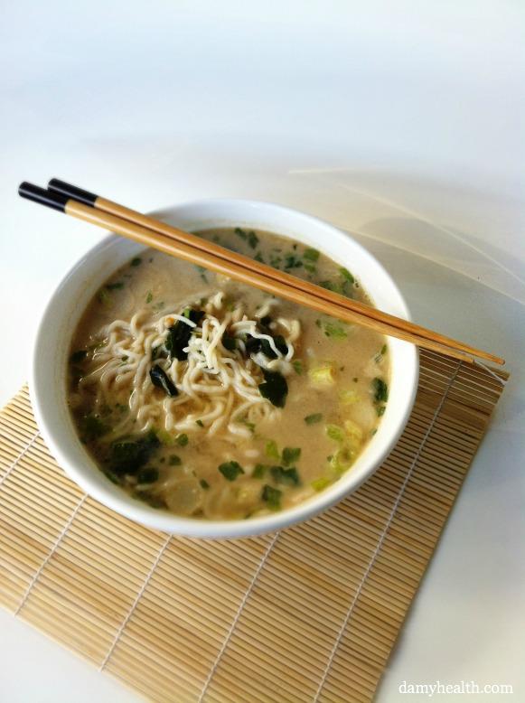 Guilt-Free Low Carb Instant Noodles