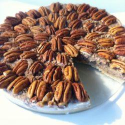 Raw Pecan Pie