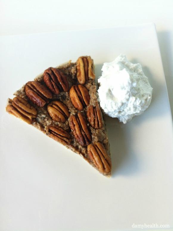 The best healthy pecan pie