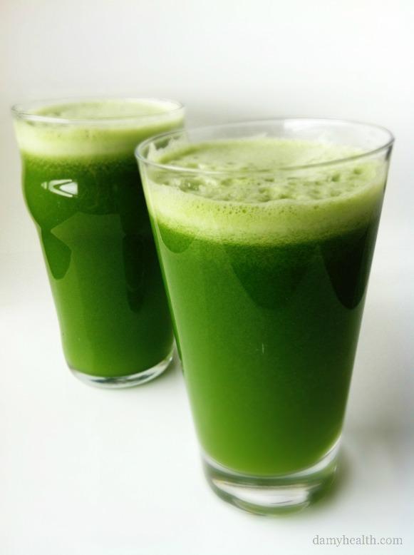 jucing greens