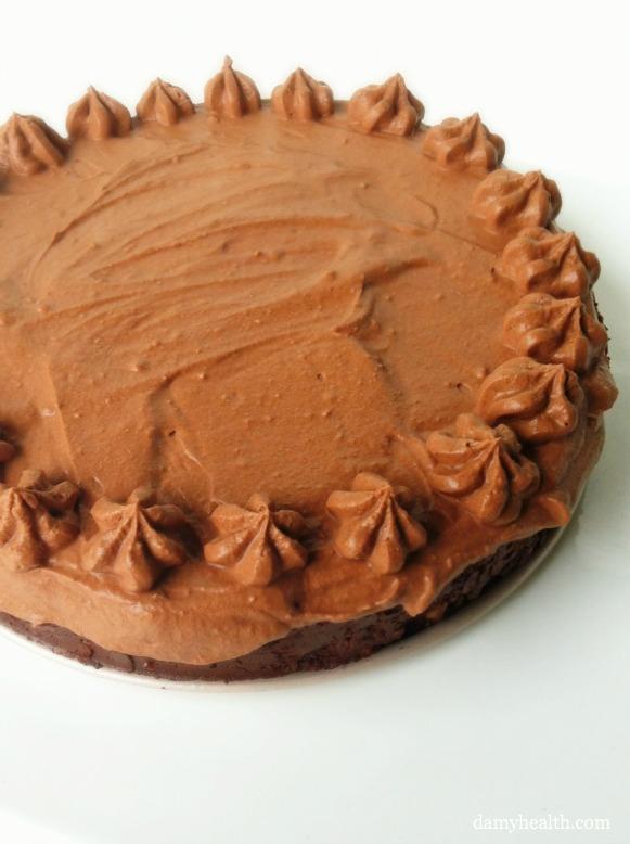 Raw Mousse Pie