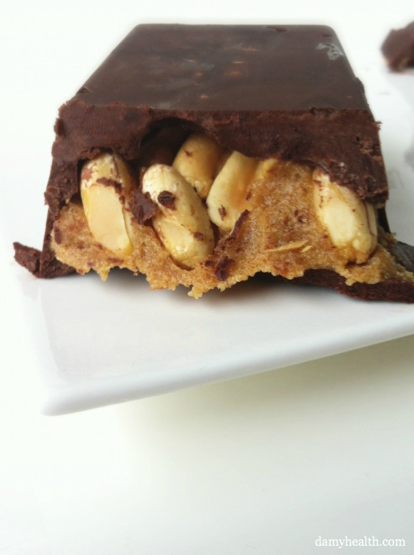 Raw natural Snickers Bar