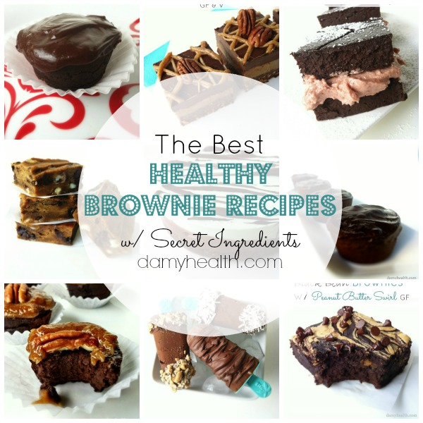 the best healthy brownie recipes