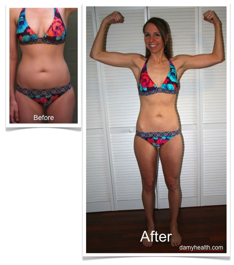 Caseys Bikini Body Weight Loss