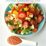 Raw Red Pepper Caesar Salad Dressing (Vegan & GF)