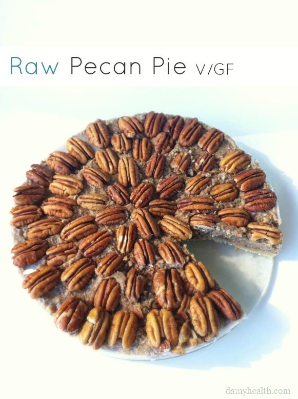 Simple Raw Pecan Pie