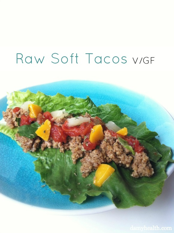 Raw-food-tacos