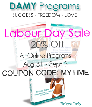 Labour Day SALE 20% OFF DAMY Programs