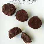 Raw Vegan Chocolate Ganache Truffles