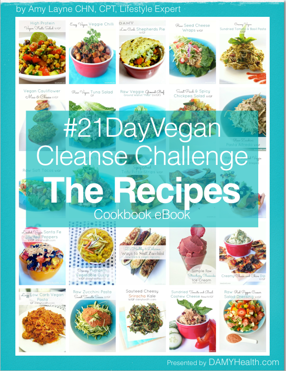 The 21 Day Vegan Cleanse Challenge – The Recipes eBook