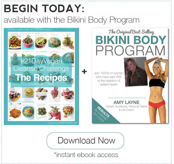 21 Day Vegan Cleanse Plus Bikini Body Program