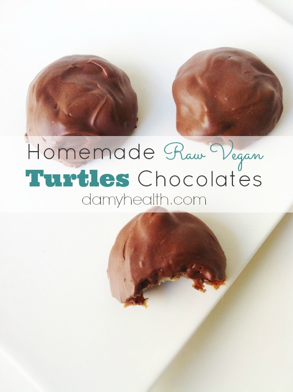 Homemade Turtles Chocolates1