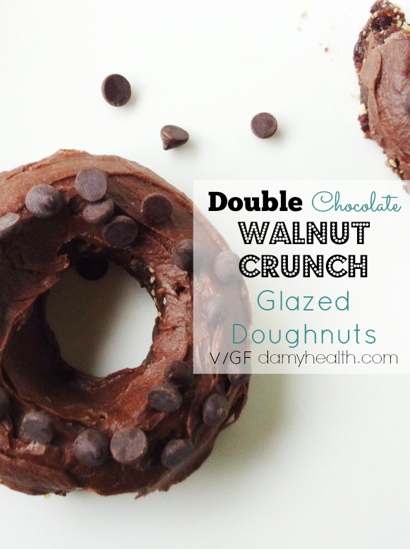 GuiltFree Double Chocolate Doughnuts1