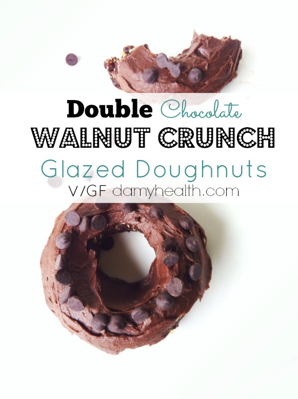 Healthy Double Chocolate Doughnuts1