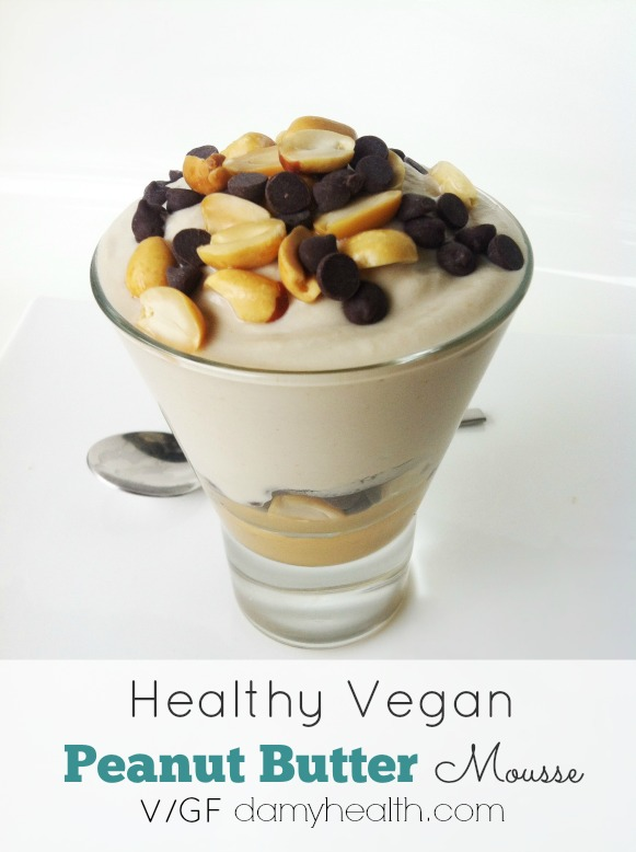 Healthy Peanut Butter Mousse1