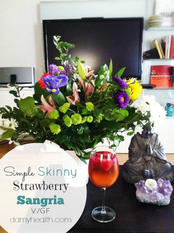 Simple Skinny Strawberry Sangria1