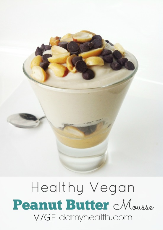 Vegan Peanut Butter Mousse1