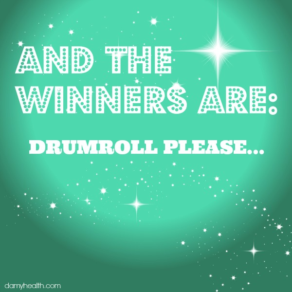 """And the Winners Are (""""Unleash Your Inner Healthy Rebel Giveaway"""")"""