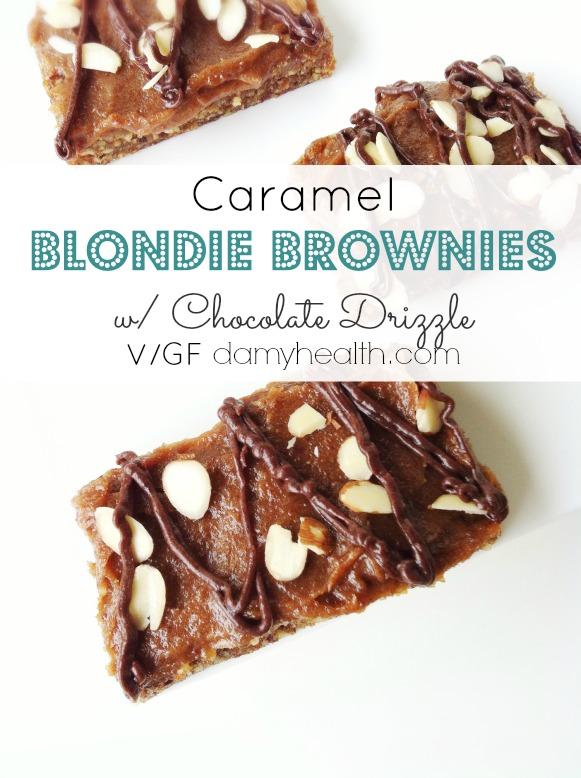 caramel blondie brownies1