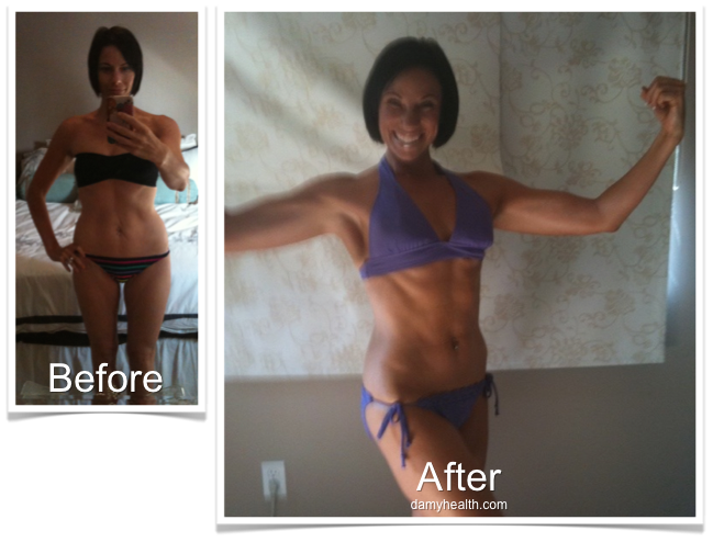 Kiara Before and After Bikini Body Program DAMY