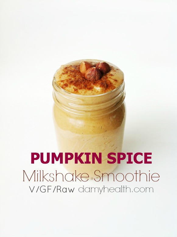 The Best Pumpkin Spice Latte Smoothie1