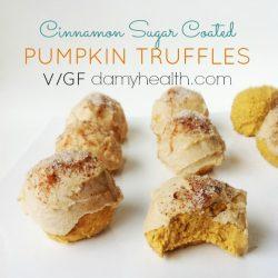 cinnamon sugar coated Pumpkin Cheesecake truffles1