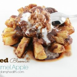 Baked Bloomin Apple