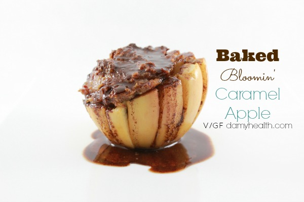 Baked Caramel Apple