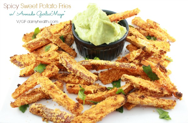 Healthy sweet potato fries1