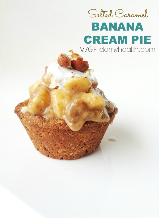 Salted Caramel banana Cream pie1