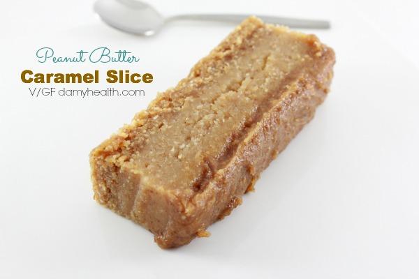Peanut Butter Caramel Slice