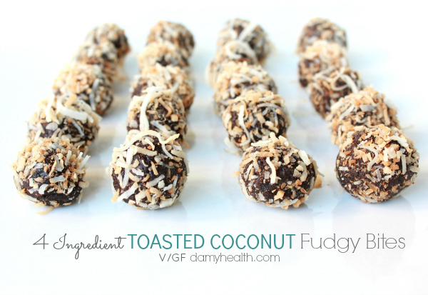 Toasted Coconut Bites