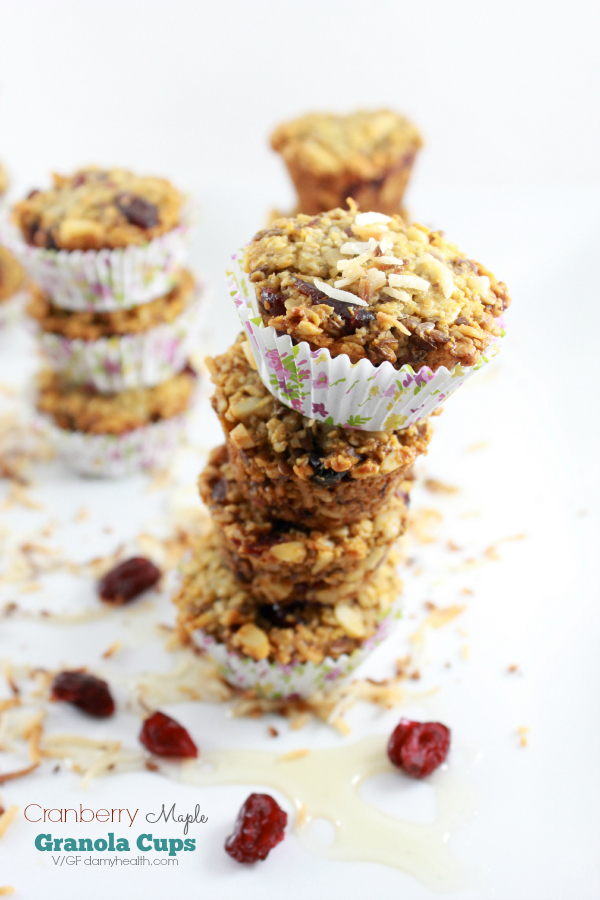 healthy granola cups