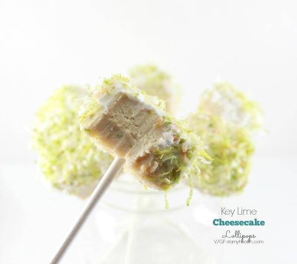 Vegan key lime pie cheesecake lollipops1