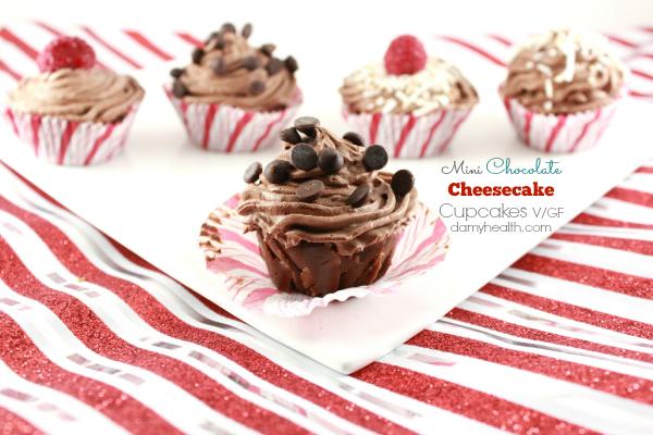 mini chocolate cheesecake cupcakes1