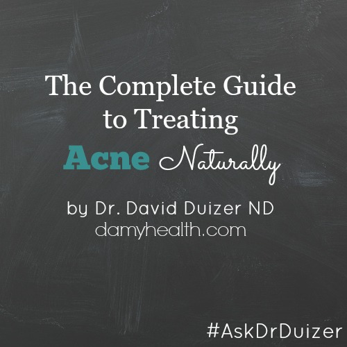 treating acne naturally