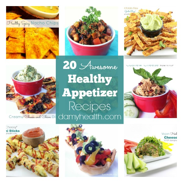 20 Awesome Healthy Appetizer Recipes