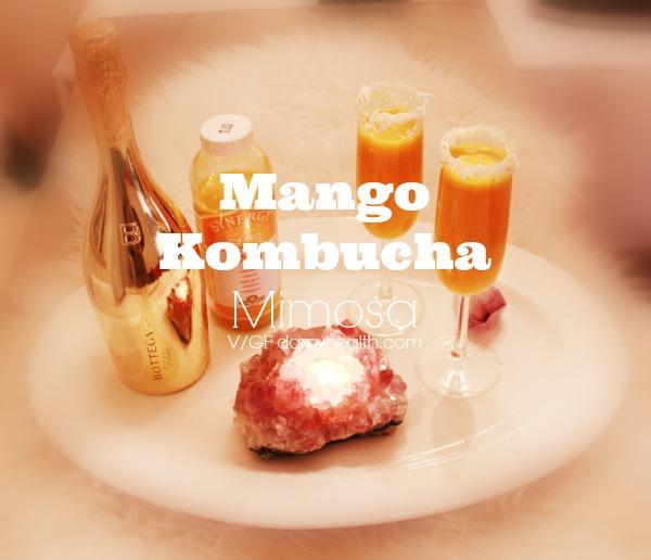 Mango Kombucha Mimosa
