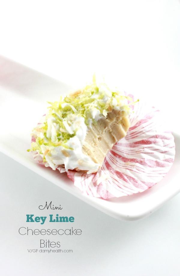 mini key lime cheesecake cupcakes1