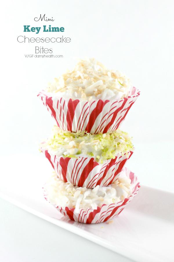 mini vegan key lime cheesecake cupcakes1