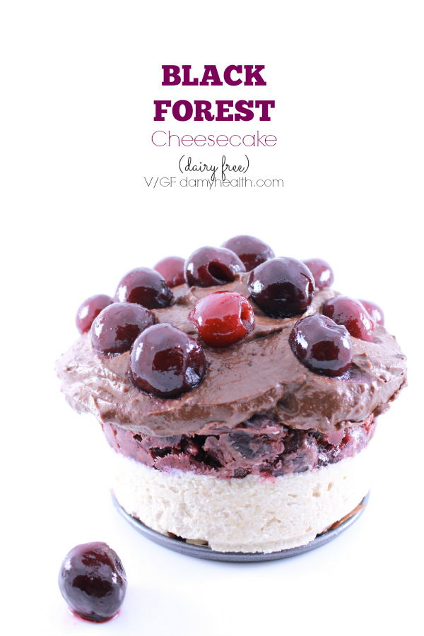 Healthy Black Forest Cheesecake1