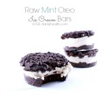 Raw Vegan Mint Oreo Ice Cream Bars