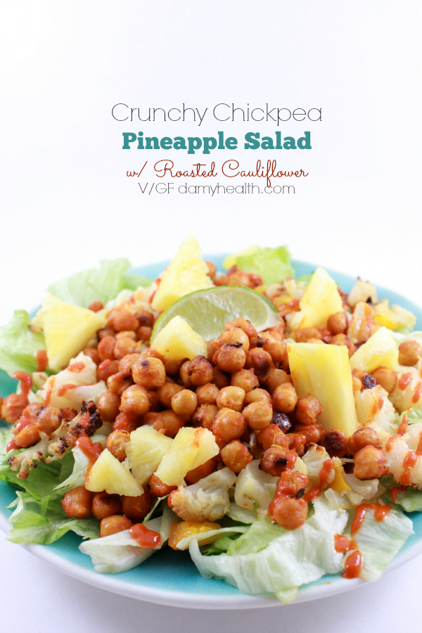 Sriracha Chickpea Salad