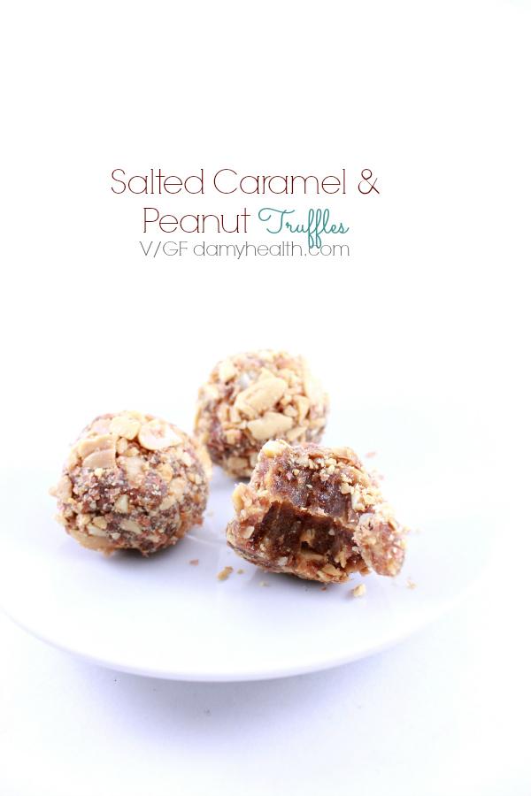 Caramel and Peanut Truffles