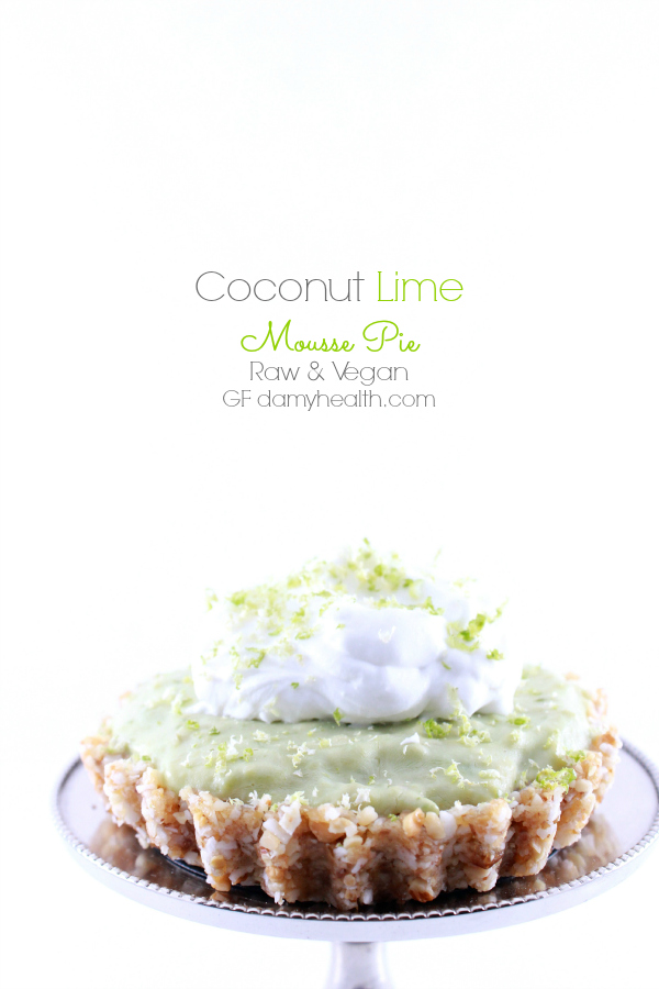 Coconut Lime Mousse Pie