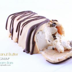 "Double Peanut Butter ""MAGNUM"" Ice Cream Bars"